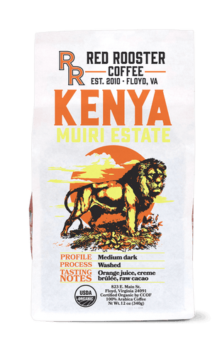 Kenya Muiri Estate Organic - Red Rooster
