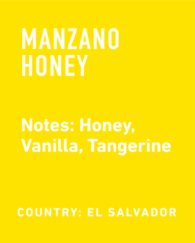 El Salvador Manzano Honey - Topeca Coffee