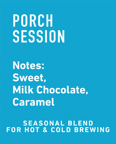 Porch Session Seasonal Blend - Topeca Coffee
