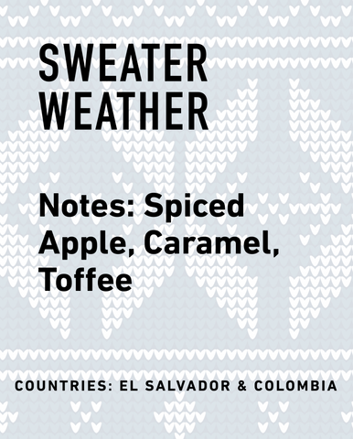 Sweater Weather Seasonal Blend - Topeca Coffee