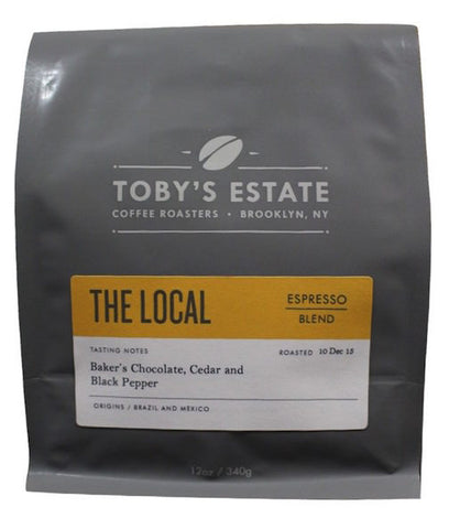 The Local Espresso Blend - Toby's Estate