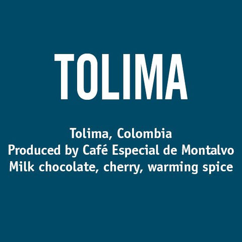 Colombia Tolima - Barrington Coffee
