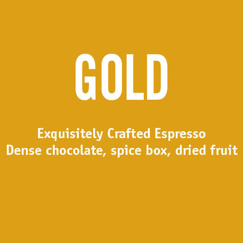 Gold Espresso Blend - Barrington Coffee