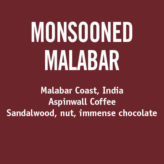 Barrington Coffee - India Monsooned Malabar
