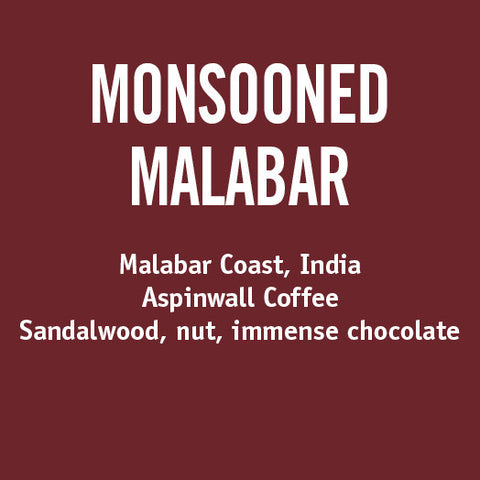India Monsooned Malabar - Barrington Coffee