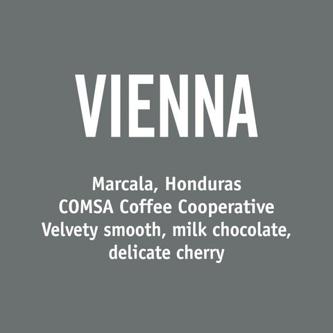 Honduras Vienna - Barrington Coffee