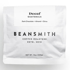 Beansmith Coffee - Decaf Guatemala Swiss Water
