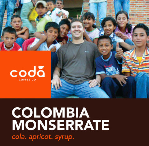 Colombia Monserrate - Coda Coffee