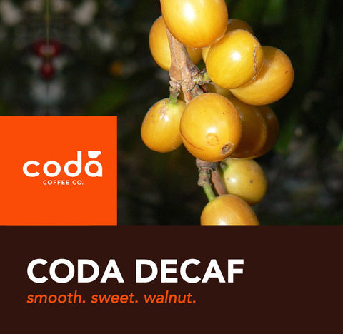 Decaf FTO Blend - Coda Coffee