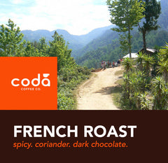 Coda Coffee - French Roast FTO Blend