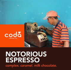 Coda Coffee - Notorious Espresso Blend