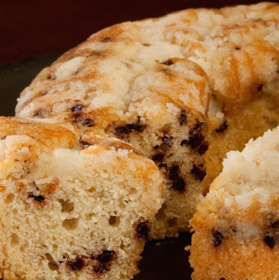Emery Coffee - Chocolate Chip Coffee Cake
