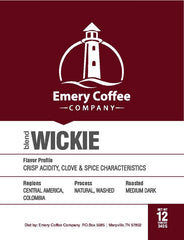 Wickie Filter Blend - Emery Coffee