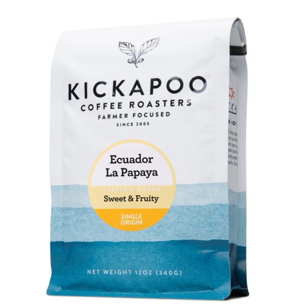 Kickapoo Coffee - Ecuador La Papaya
