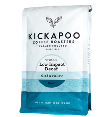 Decaf Low Impact Organic - Kickapoo Coffee