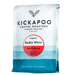 Radio Wave Organic Dark Roast - Kickapoo Coffee