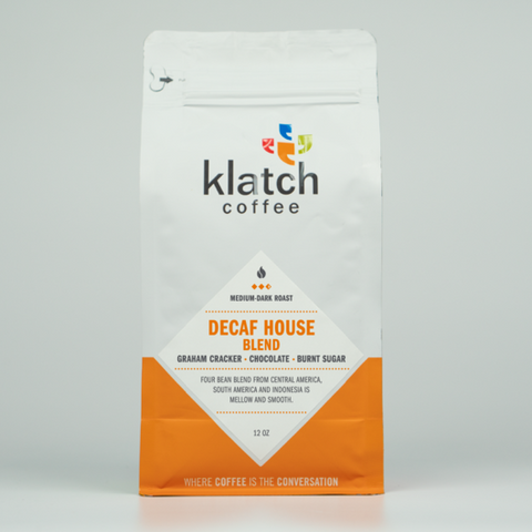 Decaf House Blend - Klatch Coffee