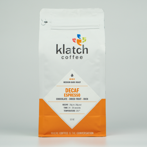Decaf House Espresso - Klatch Coffee