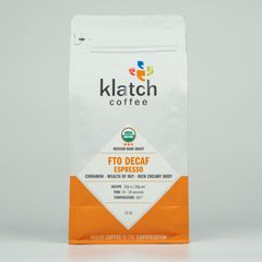 Decaf FTO House Espresso - Klatch Coffee