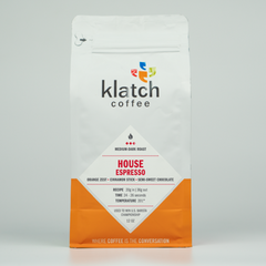 Klatch House Espresso - Klatch Coffee