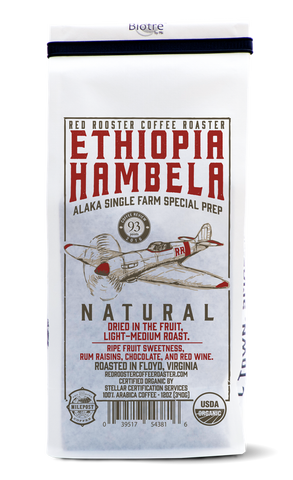 Ethiopia Hambela Natural - Red Rooster