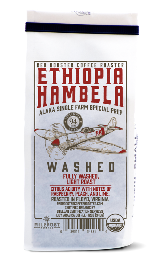 Red Rooster Coffee - Ethiopia Hambela Washed
