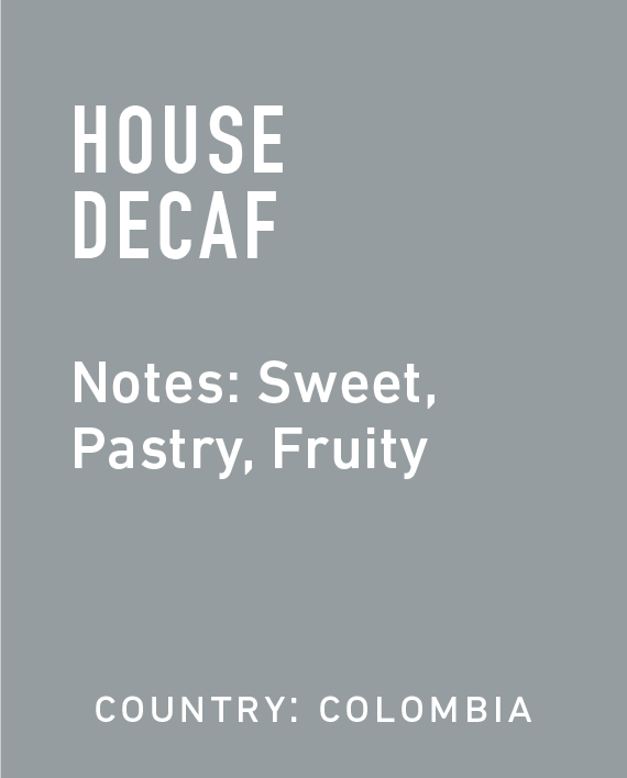 Topeca Coffee - Decaf Colombia