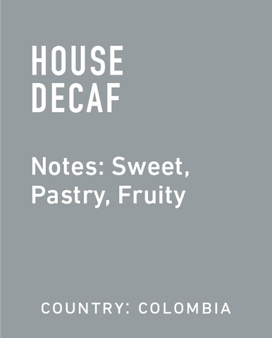 Decaf Colombia  - Topeca Coffee