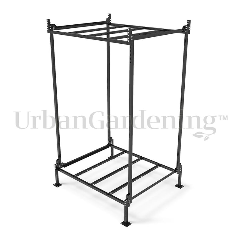 "Idrolab Modular Vertical Rack 2 ""Start + End"" Kit 120 X 240"