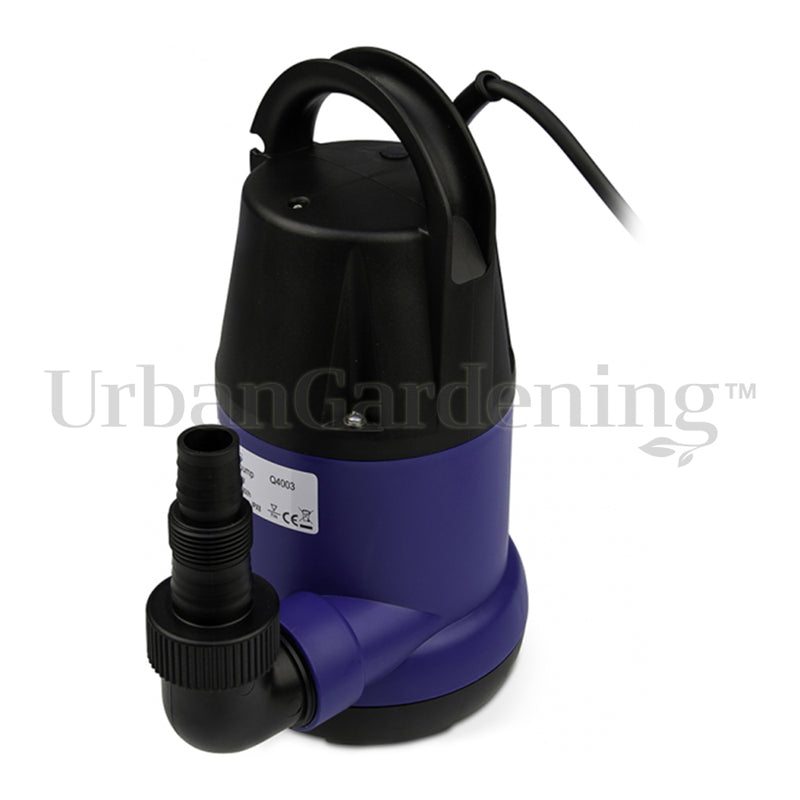 "Submersion Pump, 7000 L/h, 1"", max. head 8 m, 400 W, without float switch"