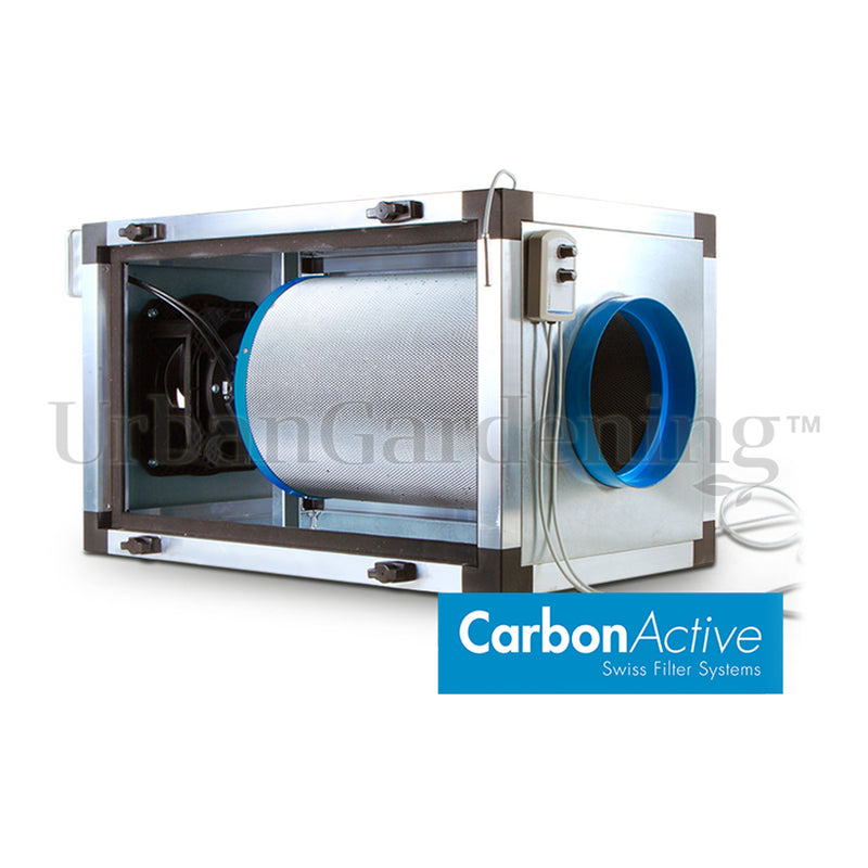 CarbonActive EC Inline Filter Unit 800m3/h