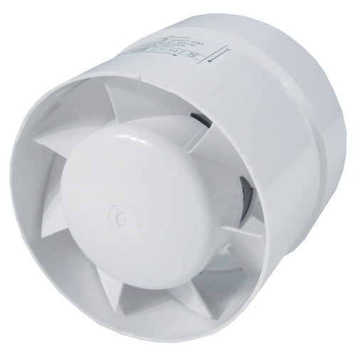 Ventilution Axial fan 105mh for 100mm tube