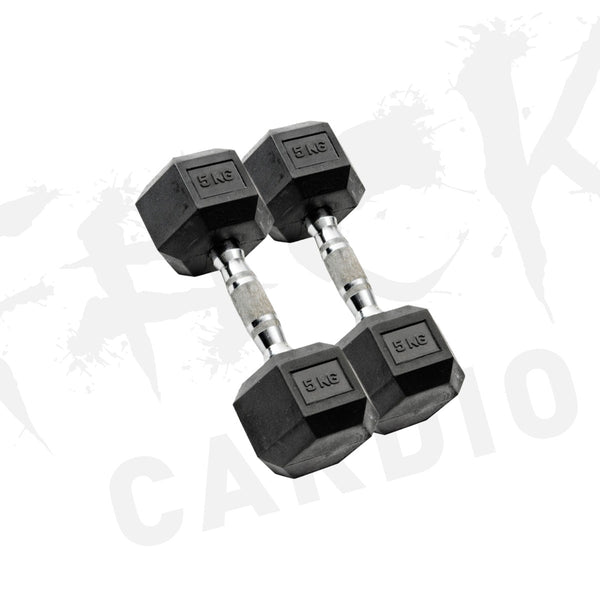 HEX DUMBBELLS 5-20KG (Sold in pairs)