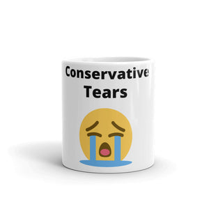 """Conservative Tears"" Mug - ElectionWarehouse"