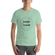 "Load image into Gallery viewer, ""Inspire Change"" Unisex T-Shirt - ElectionWarehouse"