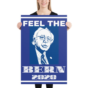 """Feel the Bern 2020"" Poster"