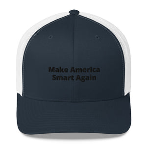 """Make America Smart Again"" Hat - ElectionWarehouse"