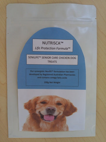 Nutrisca™ Senilife™ Senior Dog Treats