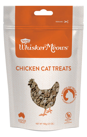 Whisker Meows Chicken Cat Treats