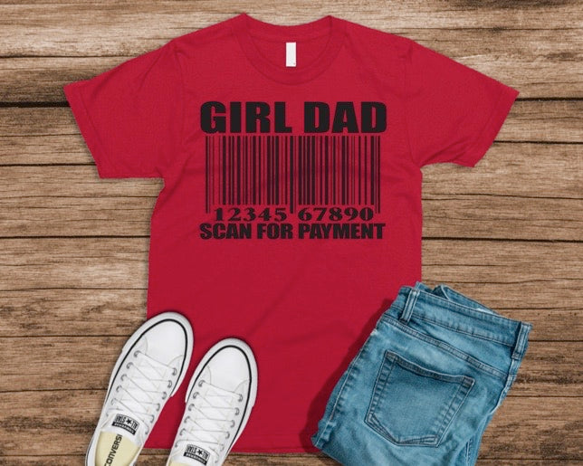 Girl Dad Scan For Payment