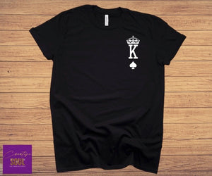King of Spades | Queen of Hearts | His & Her Shirt - Creative Soul, LLC