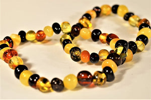 What is Baltic Amber Teething Necklace?