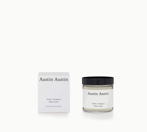Neroli + Petitgrain Body Cream by Austin Austin