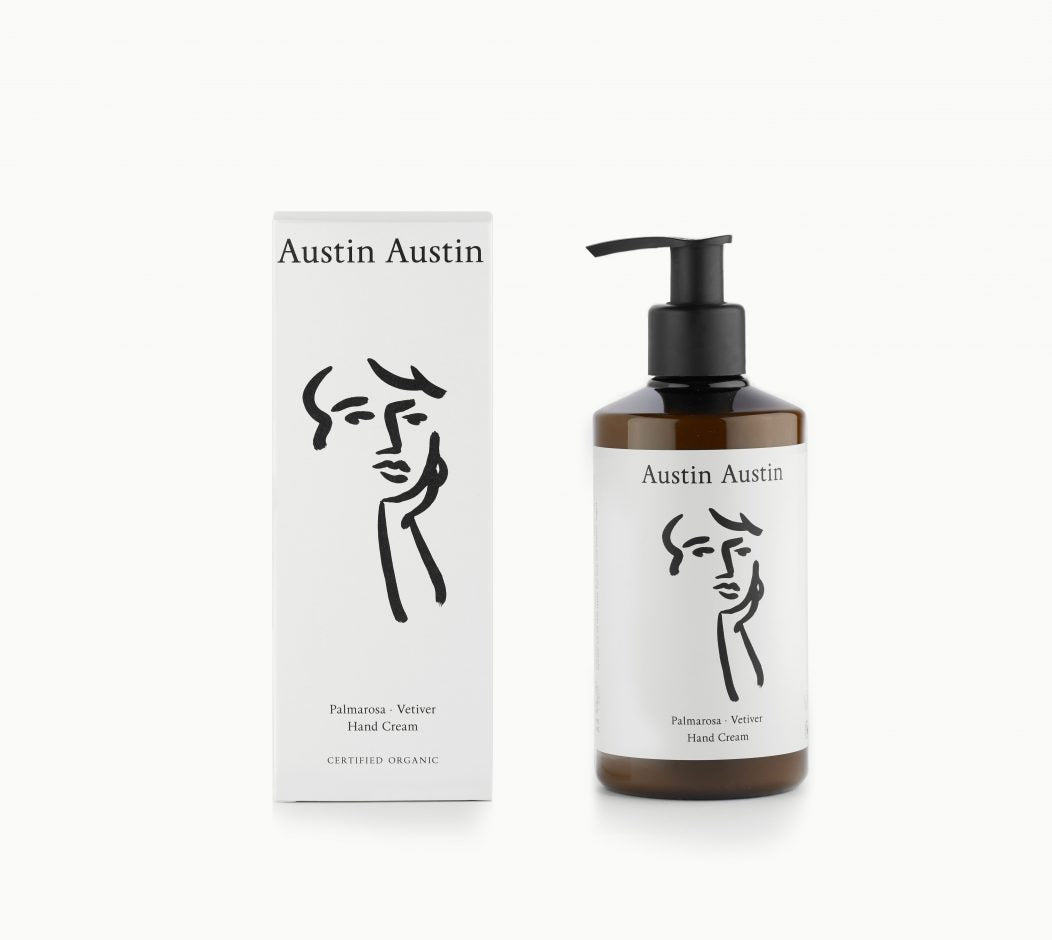 Palmarosa + Vetiver Hand Cream by Austin Austin
