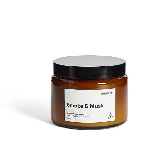 Smoke & Musk Candle (Large) by Earl of East London