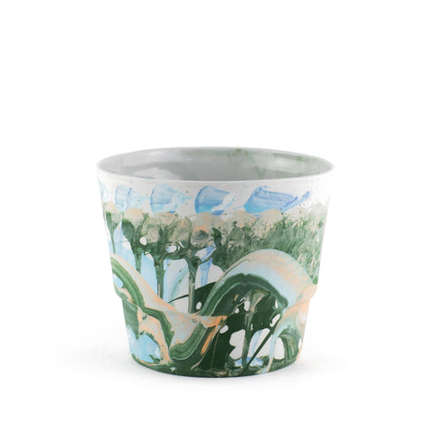 Glastra Porcelain Planter by JDP Ceramics