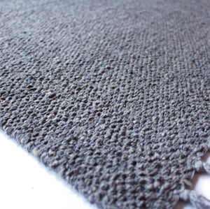Extra Large Marl Yarn-Dyed Cotton Rug - 3 Colours
