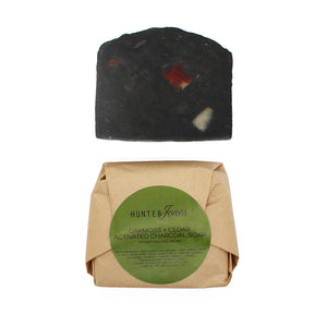 Oakmoss, Rosemary, Cedar + Activated Charcoal Aromatic Soap