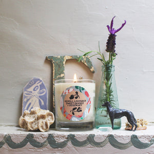 Neroli, Lavender, Sweet Orange + Rosemary Candle X Evie May Adams