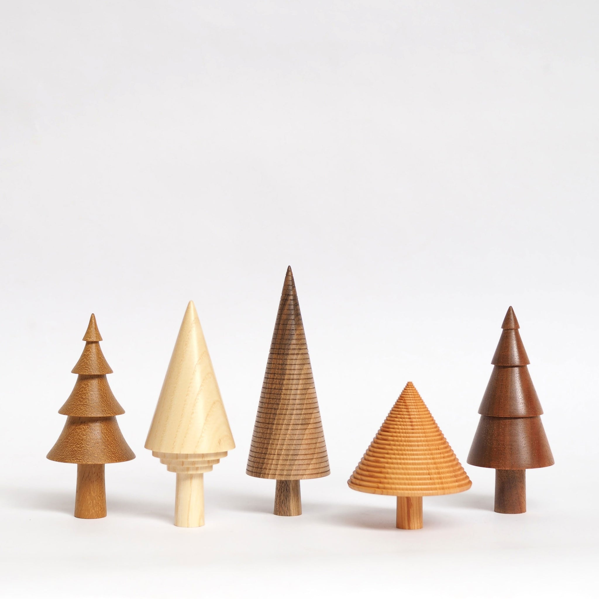 Handmade Wooden Trees
